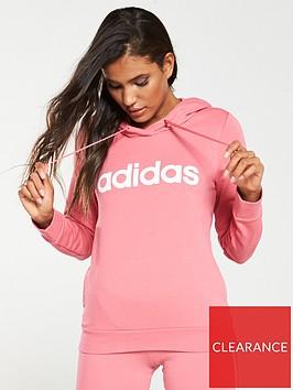 adidas-essential-linear-overhead-hoodie-pinknbsp