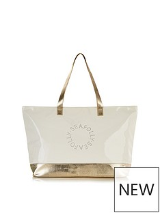 seafolly-perforated-metallic-logo-tote-bag-goldcream