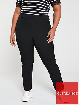 v-by-very-curve-tapered-leg-shape-lift-trouser-black