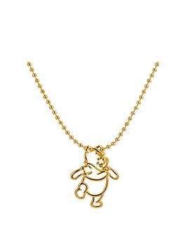 disney-disney-winnie-the-pooh-14kt-gold-plated-outline-character-necklace