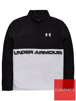 under-armour-tech-12-zip-blackwhite