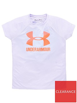 under-armour-childrens-big-logo-short-sleeve-t-shirt-lilac