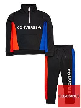 converse-colour-block-track-quarter-zip-jacket-amp-pants-suit-black