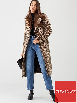v-by-very-animal-print-wrap-coat-leopard-print