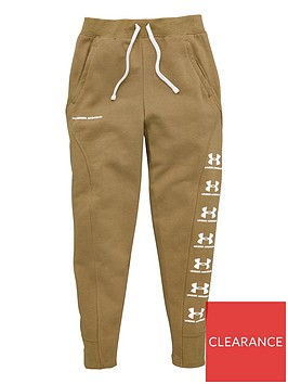 under-armour-childrens-rival-joggers-khaki
