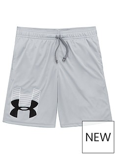 under-armour-childrens-prototype-logo-shorts-greyblack