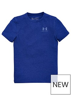 under-armour-eu-cotton-short-sleeve-t-shirt-blue
