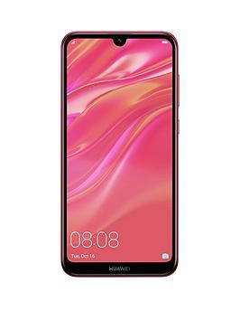 huawei-y7-2019-coral-red