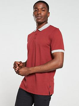 jack-jones-premium-lance-polo-shirt-burnt-russet