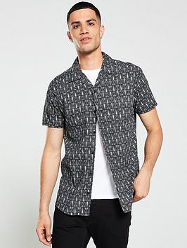 jack-jones-premium-retro-resort-shirt-blackwhite