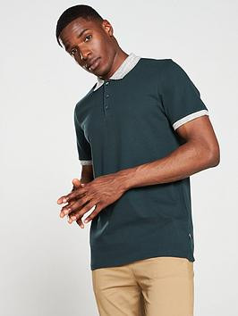 jack-jones-premium-lance-polo-shirt-darkest-spruce