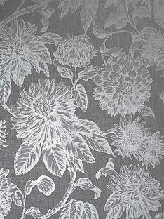 arthouse-luxe-botanica-gunmetal-and-silver-wallpaper