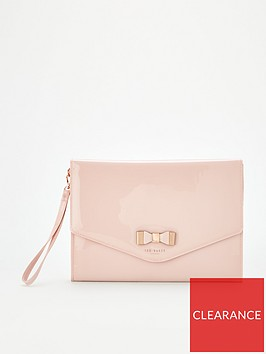 ted-baker-verai-bow-detail-envelope-pouch-pink