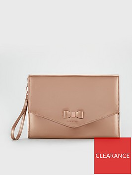 ted-baker-verai-bow-detail-envelope-pouch-rose-gold