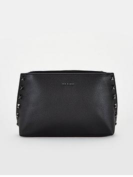 ted-baker-jemira-bow-stud-clutch-leather-cross-body-bag-black