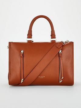 ted-baker-hanee-double-zip-detail-tote-bag-blacknbsp