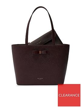 ted-baker-jjesica-bow-detail-leather-shopper-tote-bag-oxblood