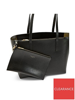 ted-baker-louisse-core-leather-shopper-tote-bag-black