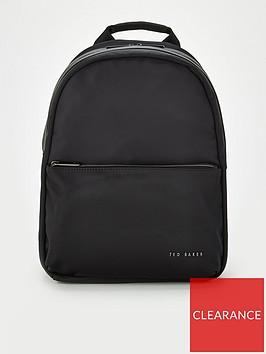 ted-baker-martah-plain-nylon-backpack-black