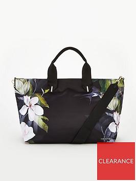 ted-baker-tahley-opal-printed-large-tote-bag-blacknbsp