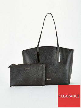 ted-baker-sheriee-curved-large-leather-shopper-black