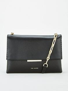ted-baker-diilila-bar-detail-cross-body-black