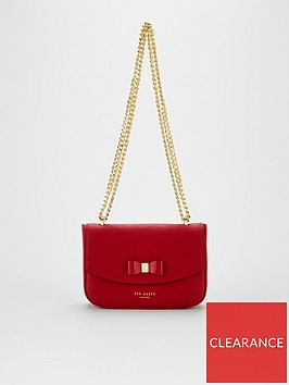 ted-baker-daissy-bow-mini-shoulder-bag-red