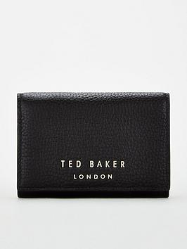 ted-baker-odelle-statement-letters-mini-purse-black