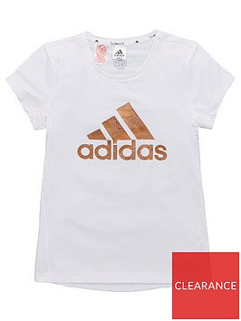 adidas-junior-training-metallic-logo-t-shirt-white