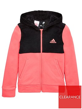adidas-junior-id-winter-velour-hooded-full-zip-hoodie-pink