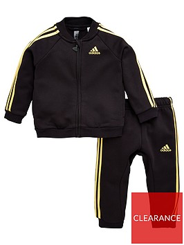 adidas-infant-holiday-tracksuit-blackgold