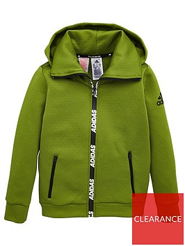 adidas-childrens-training-warm-hoodie-olive