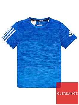 adidas-childrens-training-gradient-short-sleeve-t-shirt-blue