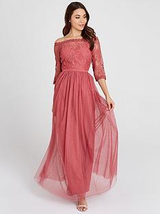 little-mistress-mesh-top-bardot-maxi-dress-blush