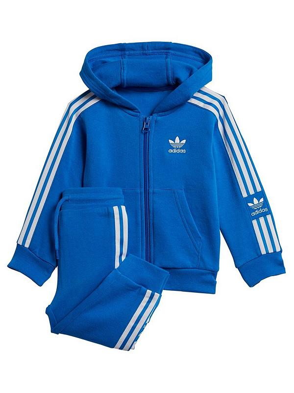 newest best shoes sale online Infant New Icon Hoodie Tracksuit - Blue