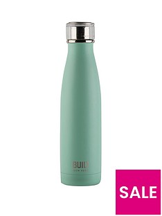 built-hydration-double-walled-stainless-steel-17oz-water-bottle-ndash-mint