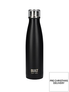 built-hydration-double-walled-stainless-steel-17oz-water-bottle-ndash-black