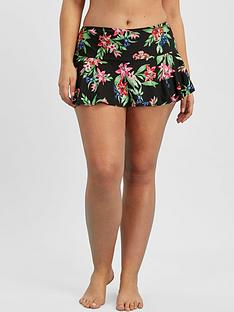 evans-tropical-swim-skirt-multi