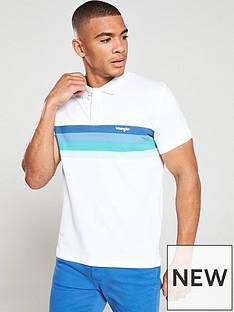 79b68105 Wrangler | T-shirts & polos | Men | www.very.co.uk