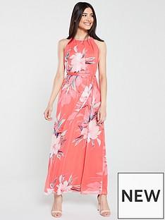 2ff3460d4d29 Wallis Holiday Floral Maxi Dress - Pink