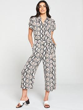 wallis-snake-print-jumpsuit-neutral