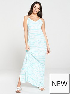 warehouse-tie-dye-maxi-dress-turquoise