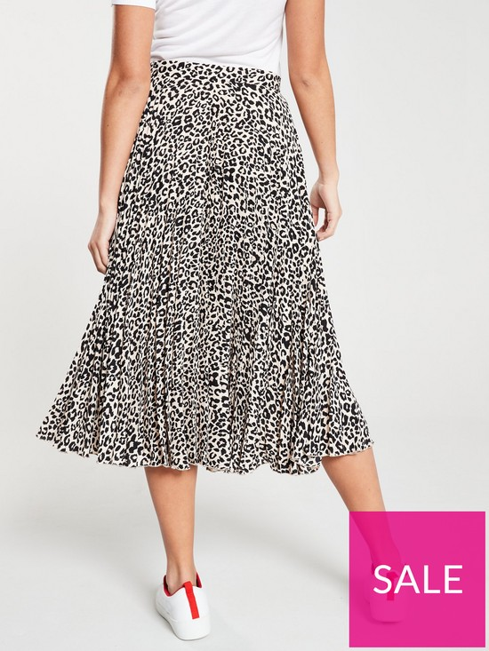 d870d30d2dbd ... Oasis Pleated Skirt - Animal Print. 2 people are looking at this right  now.