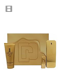 paco-rabanne-paco-rabanne-1-million-mens-100ml-eau-de-toilette-5ml-eau-de-toilette-100ml-shower-gel-gift-set
