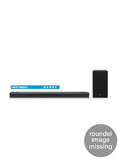 LG LG SL8YG Soundbar - 3.1.2-channel, 440W, Dolby Atmos, Hi-Res Audio (24bit/96kHz), Sound Upconverting, 4K Pass through, Chromecast built-in