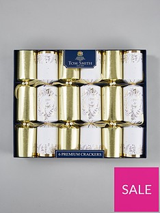premium-gold-and-cream-christmas-crackers-set-of-6