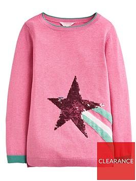 joules-girls-miranda-sequin-star-jumper-pink