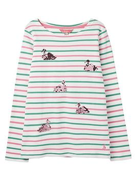 joules-girls-harbour-sequin-swan-long-sleeve-t-shirt