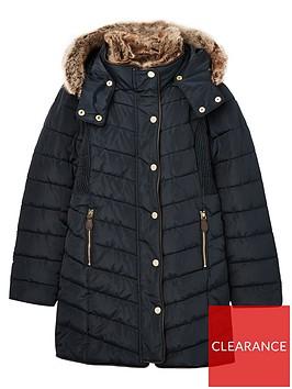 joules-girls-cherrington-long-line-padded-coat-navy
