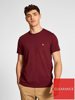 jack-wills-sandleford-t-shirt-burgundy